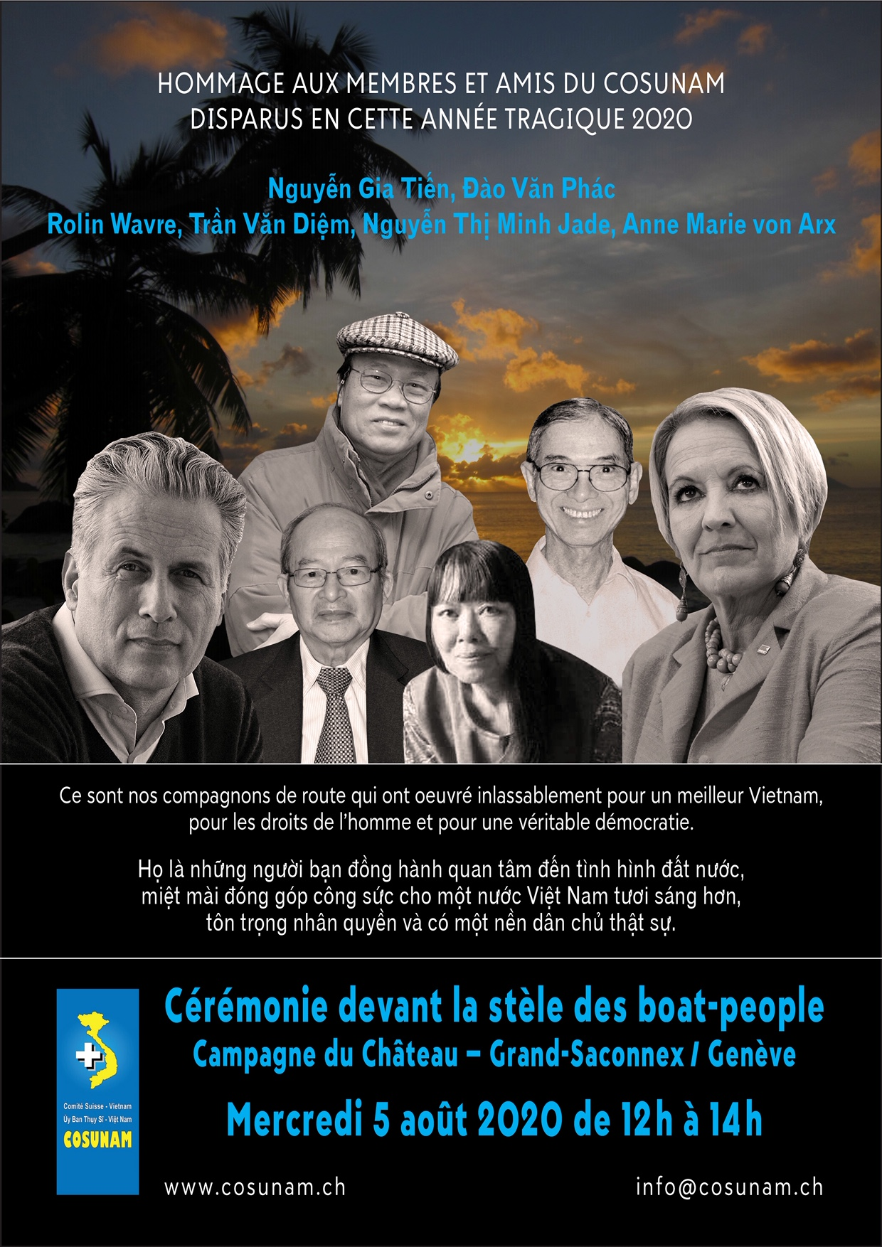 Flyer commémoration 5 août 2020