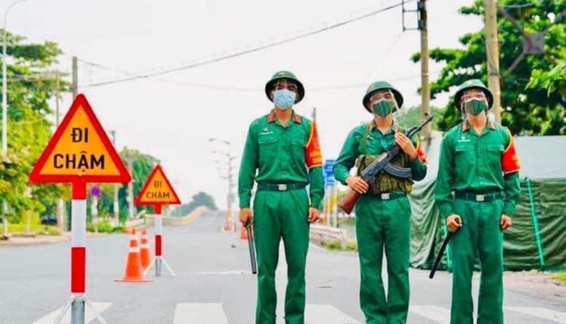 Bô dôi de 2021 aux portes de Saigon