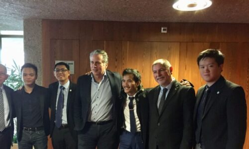 Conférence de UN Watch sur les droits de l'homme en faveur du pasteur Lê Trung Tôn