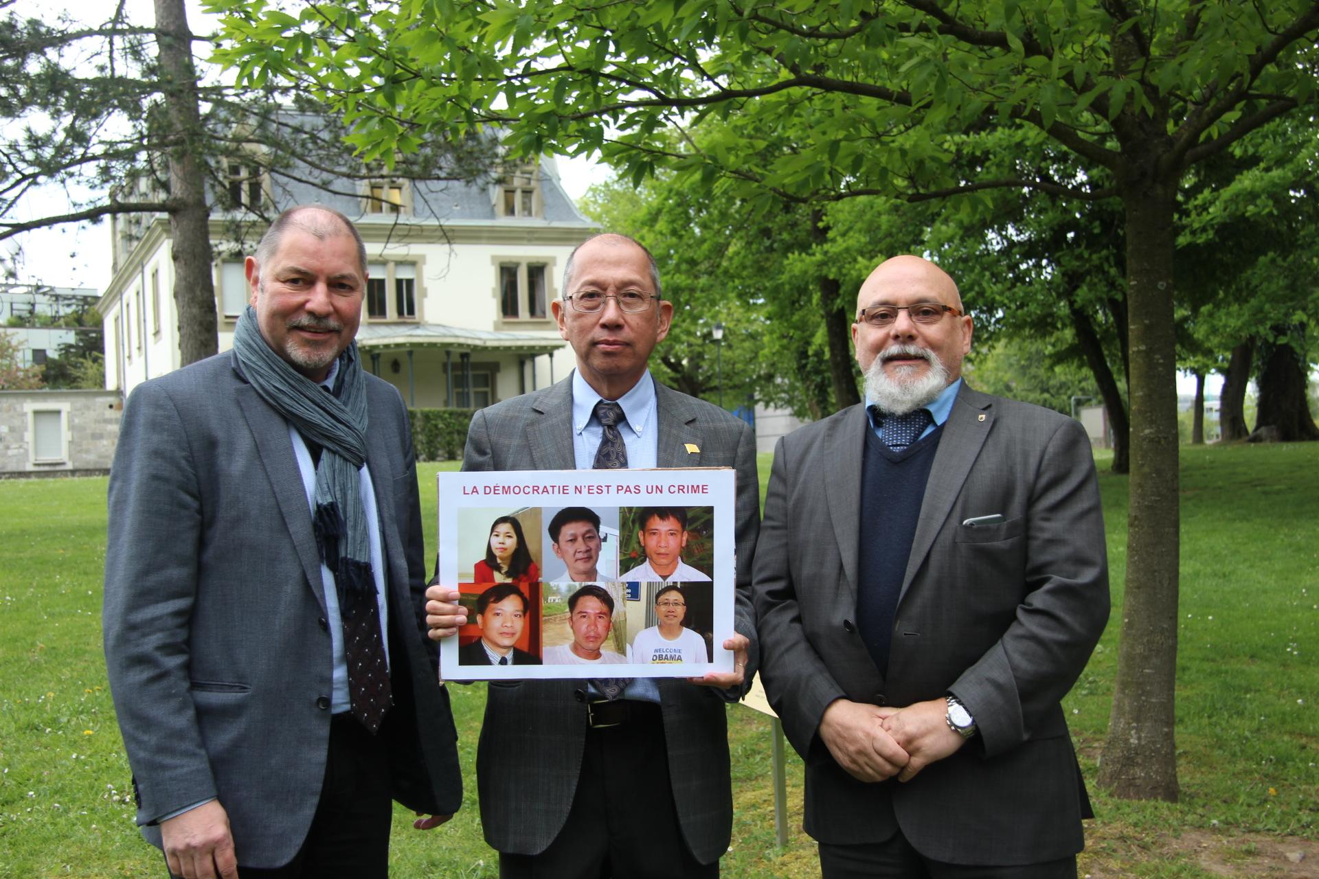 Jean-Marc Comte et le parti PDC