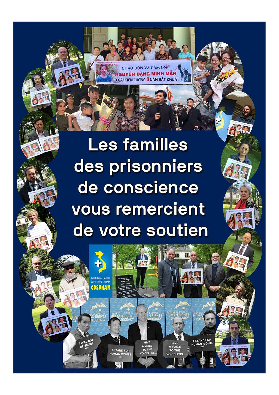 Remerciements familles PdC